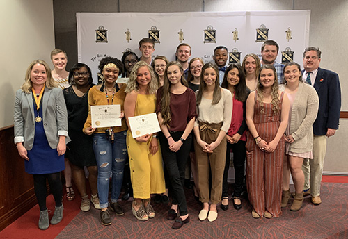 WKU chapter of Phi Eta Sigma National Honor Society inducts 43