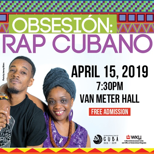 WKU to host Cuban hip-hop duo Obsesión for CES performance