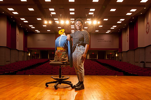 Student's experience abroad inspires fashion show