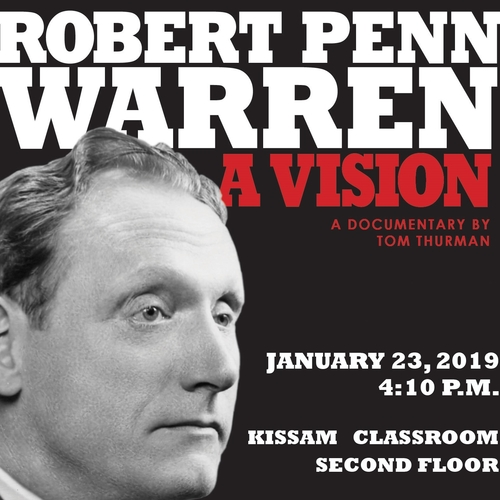 Upcoming Robert Penn Warren documentary to premiere in Van Meter Hall