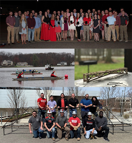 WKU civil engineering students have successful year