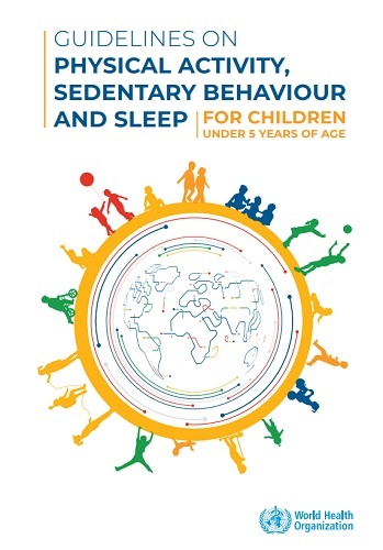 Who Issues Physical Activity Guidelines For Children Under Five