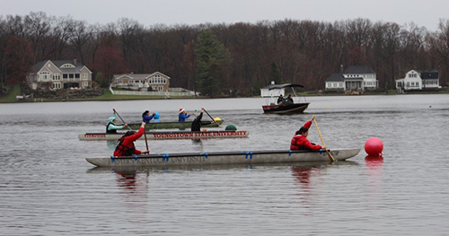 View from the Hill: Concrete Canoe Team