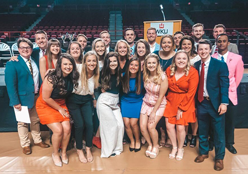 Annual Chapter Achievement, Greek Week awards presented
