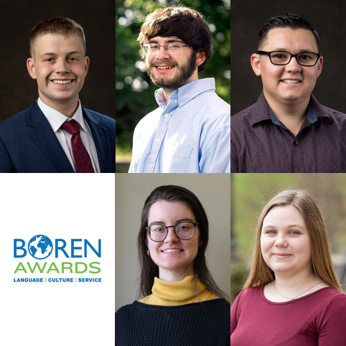 5 WKU students awarded Boren Scholarships