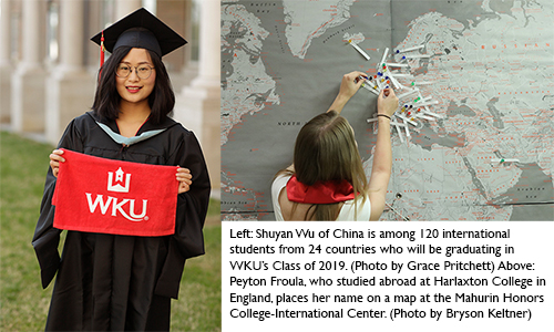 More than 500 study abroad & international students to graduate