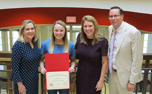Elementary Education major awarded first Passport to the World Scholarship