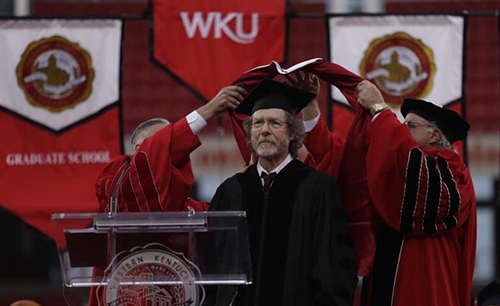 View from the Hill: Sam Bush reflects on receiving honorary doctorate