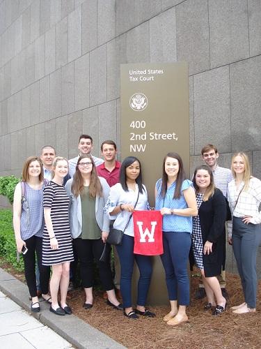 MAcc Students Visit D.C.