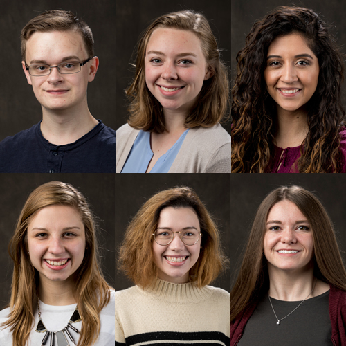 6 WKU Students Recognized by Gilman Scholarship Program for Winter/Spring 2019 Study Abroad