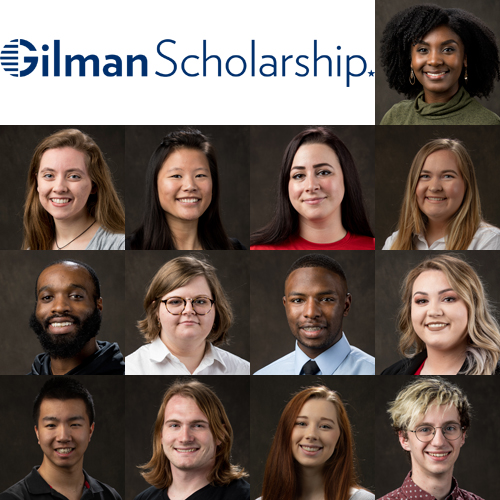 15 WKU Students Recognized by Gilman Scholarship Program for Summer 2019 Study A...