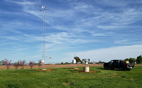 Kentucky Mesonet at WKU moves station to Ephram White Park