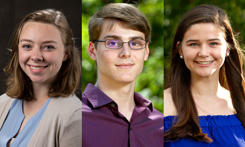 3 WKU Students Named Goldwater Scholars
