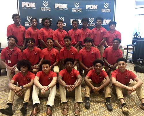 WKU Young Male Leadership Academy students attend summer camp, national conference