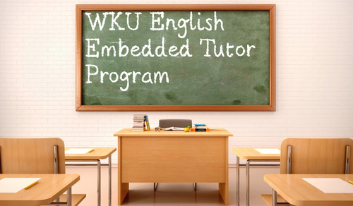 WKU's English Department Develops Embedded Tutor Program