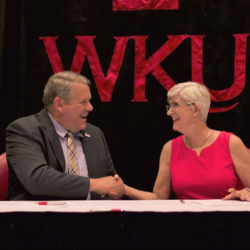 Western Kentucky University signs agreement with Somerset Community College and the University Center of Southern Kentucky