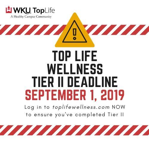 Top Life Wellness Deadline