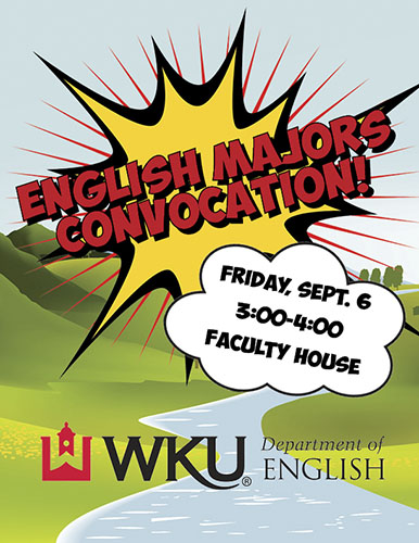 Third Annual English Major Convocation