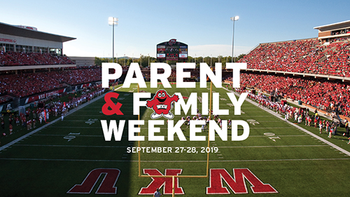 WKU to celebrate 2019 Parent & Family Weekend Sept. 27-29