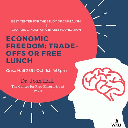 Economic Freedom Focus of Grise Hall Lecture