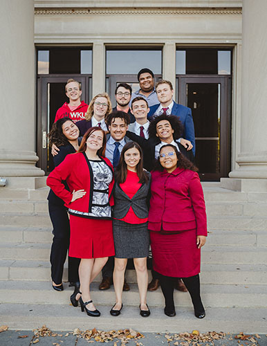 WKU Forensics Team hosts season-opening tournament