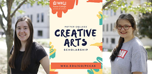Potter College offers Creative Arts Scholarship to incoming freshmen