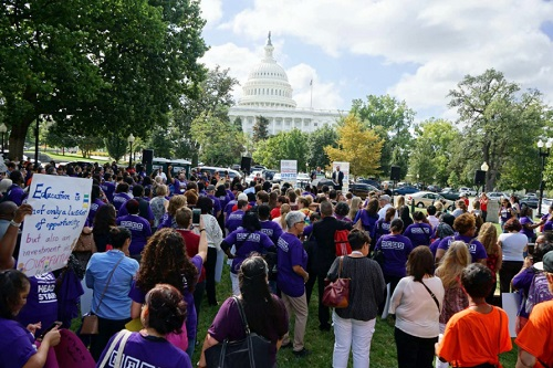 National Head Start Association Rallies on Capitol Hill