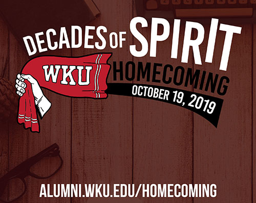 WKU to celebrate Homecoming 2019 'Decades of Spirit' Oct. 17-20