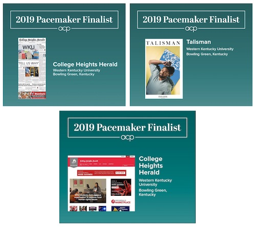 Herald, Talisman finalists for three Pacemaker awards