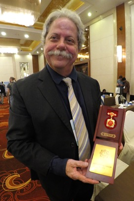 WKU geoscientist awarded medal by Chinese Geological Survey
