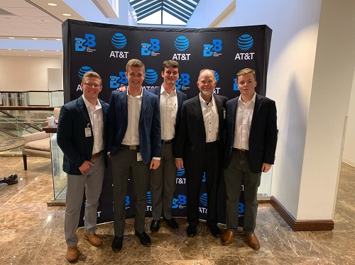 Professional Selling Team Competes in AT&T National Sales Competition