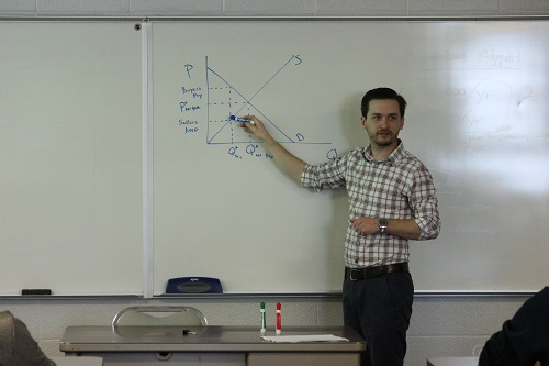 Dr. Stephen Locke: From Econ Student to Professor