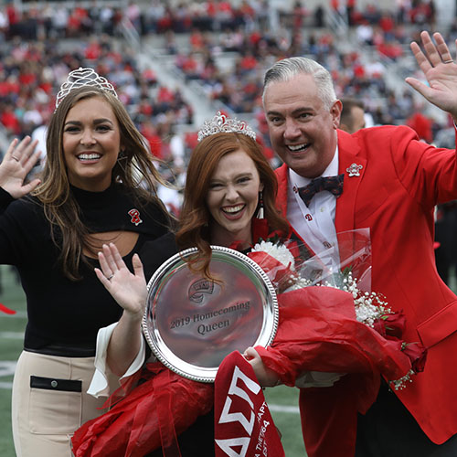 Allyson Taylor crowned WKU Homecoming queen