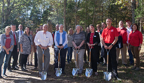 Groundbreaking Held for Pavilion at McChesney Field Campus