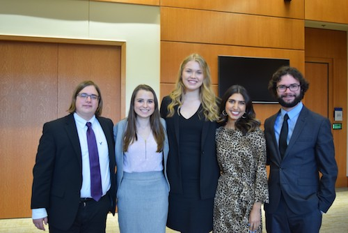 Political Science Majors Attend Kentucky Pension Summit