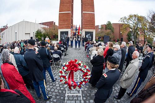 WKU to observe Veterans Day at ceremony on Nov. 11