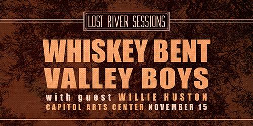 Lost River Sessions LIVE! Nov. 15 at Capitol Arts Center