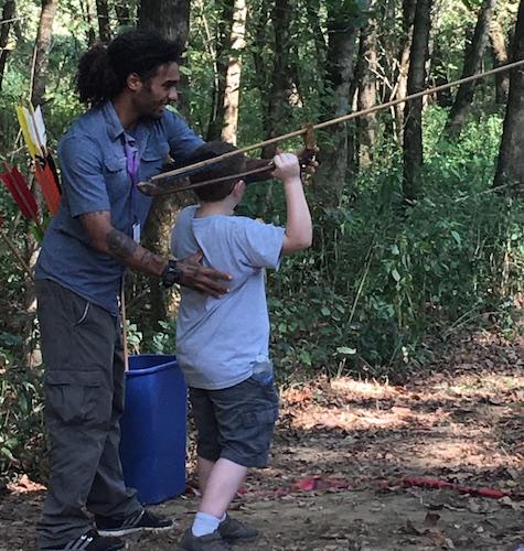 Hilltoppers Volunteer at Living Archaeology Weekend