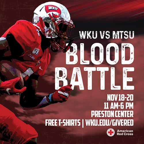 WKU vs. MTSU blood drive adds competition ahead of Nov. 30 game