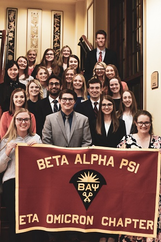 Beta Alpha Psi Earns Superior Chapter Status