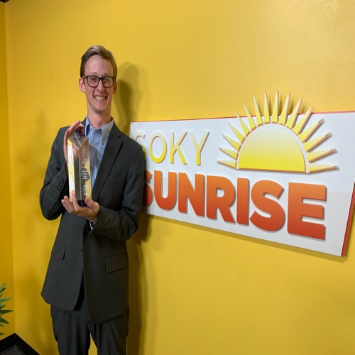 SOKY Sunrise Producer Celebrates Winning Major Broadcasting Award