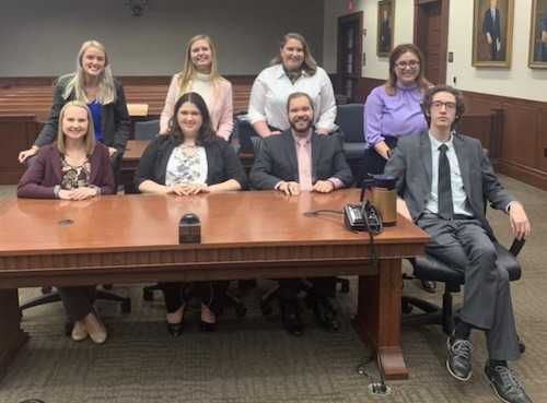 WKU Mock Trial Team Competes at Colonel Classic Invitational