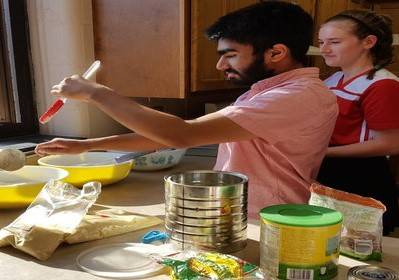 Arabic Culture through Food Event Provides Hands-on Cultural Experience