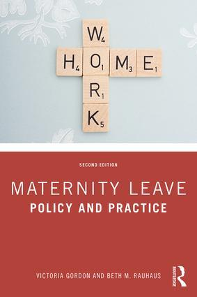 Professor Victoria Gordon Publishes Second Edition of Her Book on Maternity Leav...