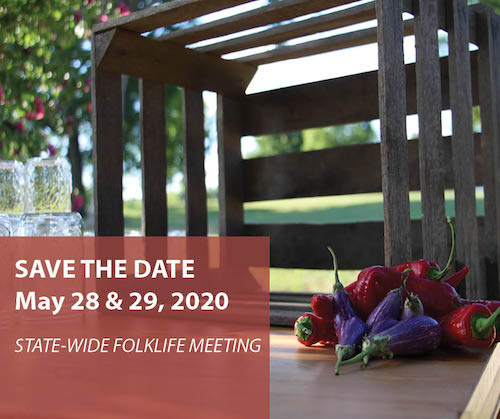 SAVE THE DATE: Kentucky Folklife Gathering May 28th and 29th