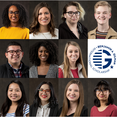 Mahurin Honors College Students Recognized by Gilman Scholarship