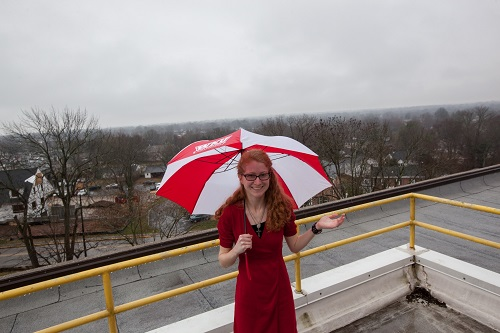 Meteorology student extends learning at White Squirrel Weather and Kentucky Mesonet