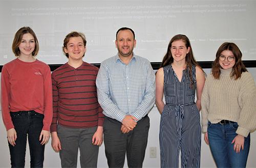 Gatton Academy Sends Team to Arabic Debate Tournament