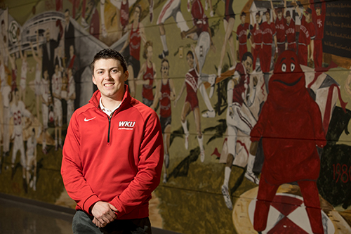 Sports Management student builds strong base at WKU