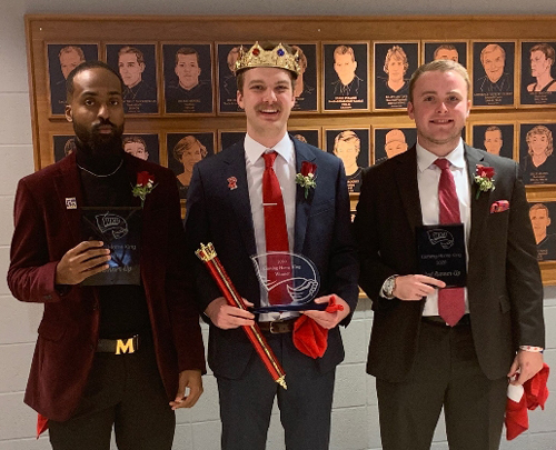 Mahurin Honors College Student Hudson Curry wins 2020 Coming Home King